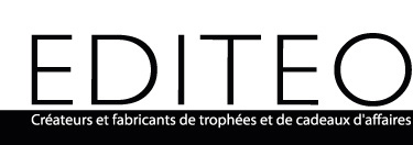 Editeo, créateurs et fabricants de trophées et de cadeaux d'affaires