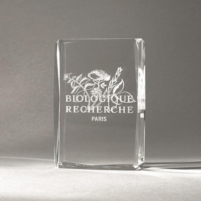 Trophée en verre fabrication
